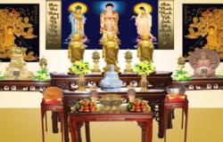 Cách bố trí bàn thờ tổ tiên hợp phong thủy