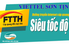 Viettel Sơn Tịnh – Thủ Tục Lắp Mạng Viettel Sơn Tịnh – Nhanh Nhất