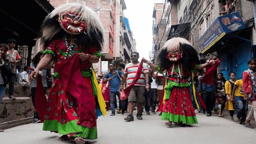lễ hội gaijatra nepal news gle