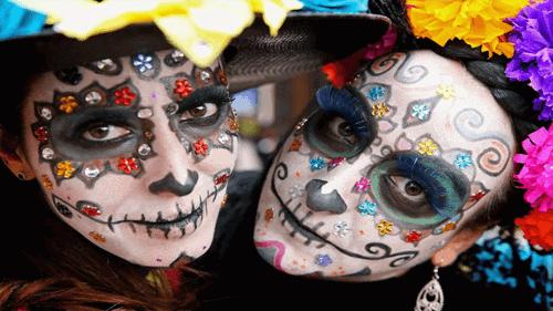 lễ hội Dia de los Muertos ở mexico news gle