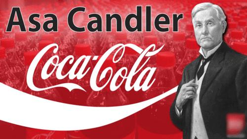 asa candler người sáng lập công ty coca cola