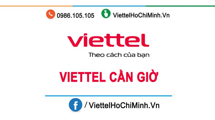 lắp mạng wifi internet viettel huyện cần giờ