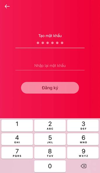 tạo mật khẩu đăng nhập viettelpay